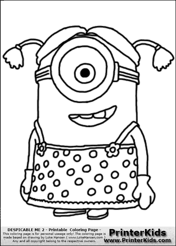 Three Minion Sing And Dance Coloring Page Dave The