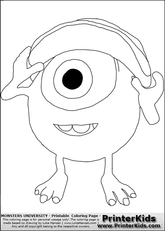 enchanting monster inc coloring pages 33 on download coloring pages ...